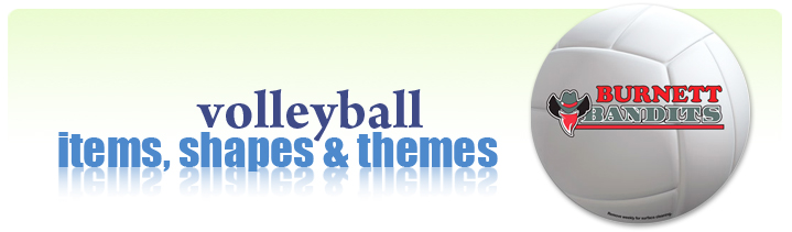 volleyball promotional products