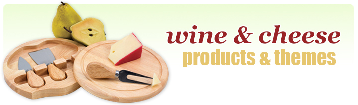 wine and cheese promotional products