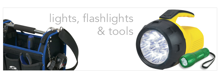 promotional tools and lights
