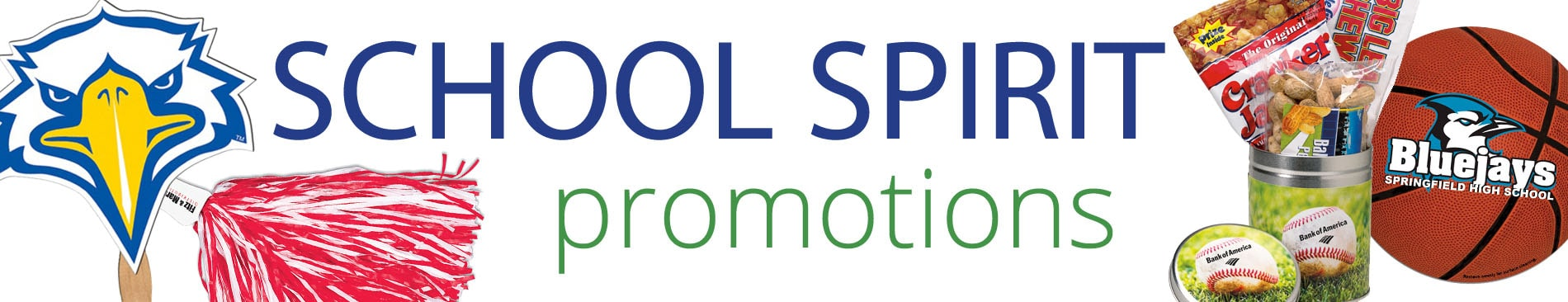 school spirit promotional products