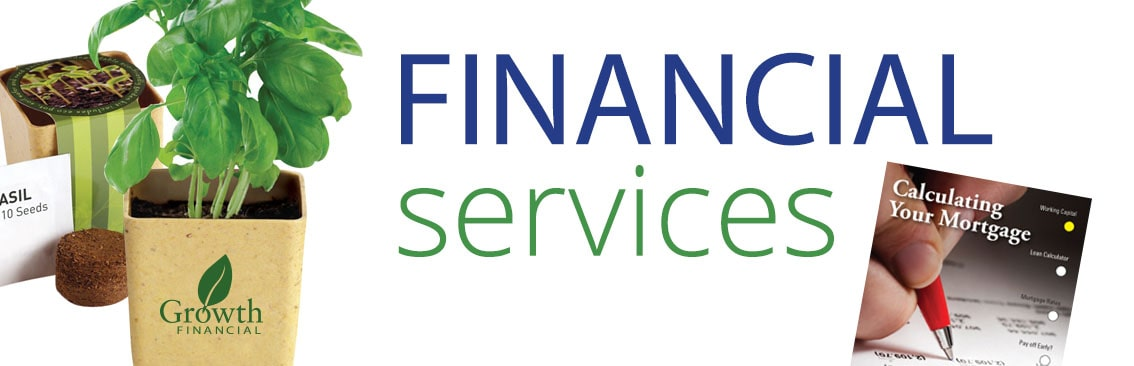 financial services promotions and gifts