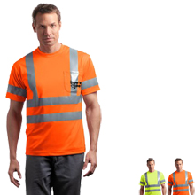 CornerStone® - ANSI Class 3 Short Sleeve Snag-Resistant Reflective T-Shirt