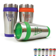 Stainless Tumbler with Color Liner, 16oz.